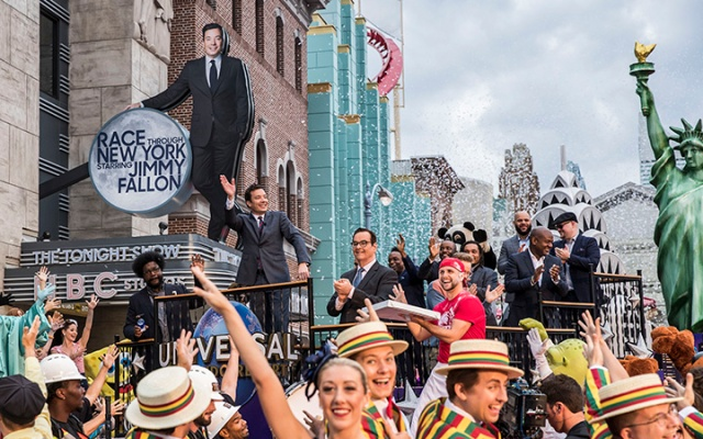 GO, Grand Opening, publicity, Race Through New York Starring Jimmy Fallon, JFAL, JF, RTNYSJF, Project 727, Virtual Line™, Attraction, Rides, New York, NY, Universal Studios Florida, USF, Universal Orlando Resort, UOR, UO