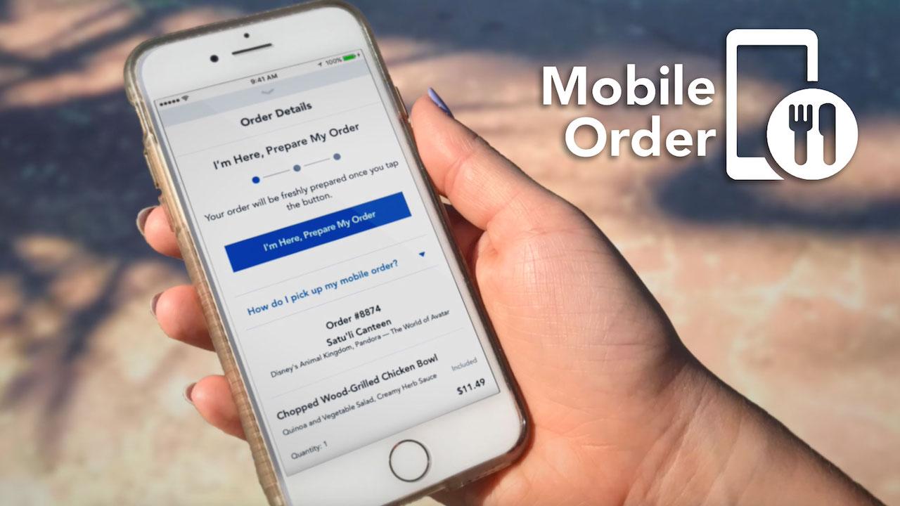 Mobile Order Disney