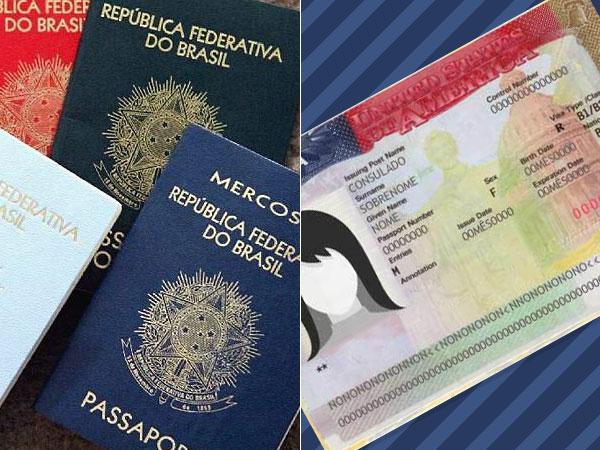 passaporte-e-visto-americano