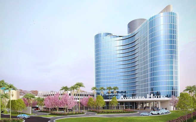 Universals-Aventura-Hotel-Entrance-Rendering