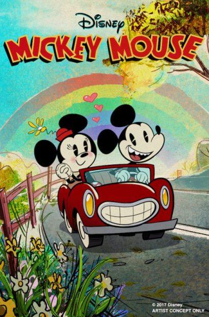 mickey and minnie ride