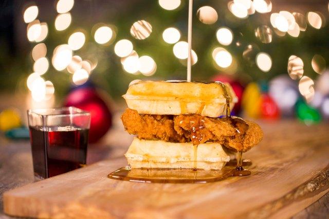 Busch Gardens Tampa Bay Christmas Town Chicken And Waffles.jpg