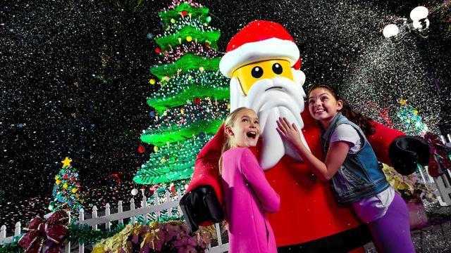 Natal no Legoland