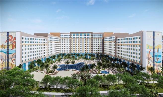 novo hotel universal Orlando