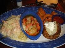 Prato com camarões Red Lobster