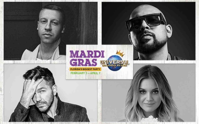 Cantores do Mardi Gras 2018