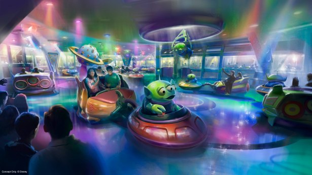 - ALIEN SWIRLING SAUCERS AT TOY STORY LAND IN DISNEY_S HOLLYWOOD STUDIOS (Disney)