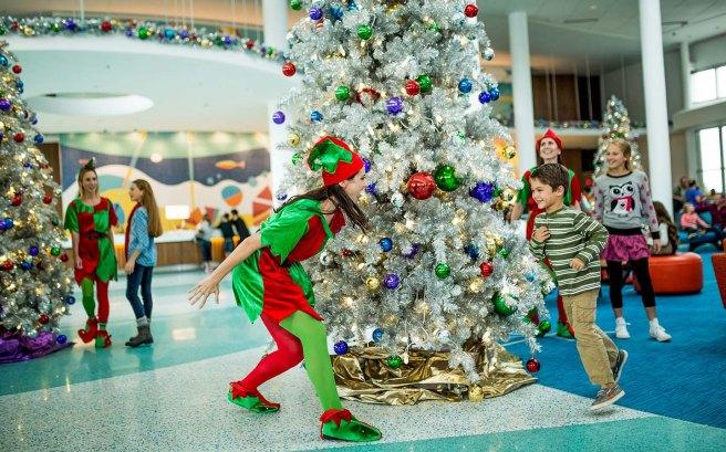 Natal nos hotéis da Universal