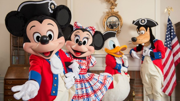 Mickey no 4 de julho