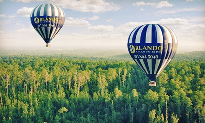 Orlando Ballon Ride