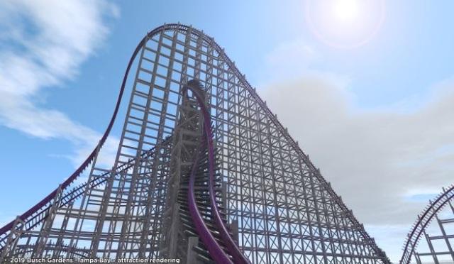 Nova montanha russa Busch Gardens.jpg