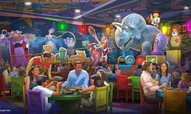 Novo restaurante Toy Story