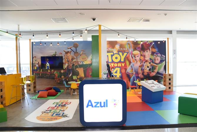 Toy Story na Azul
