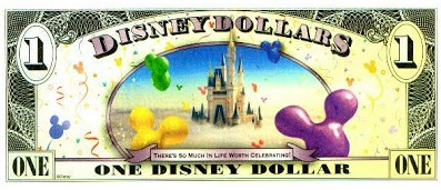 disney dollar - Edited