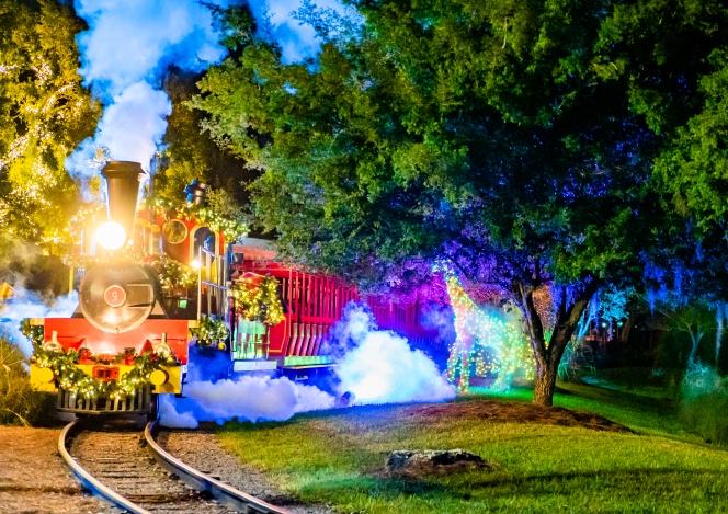 Christmas Town Train