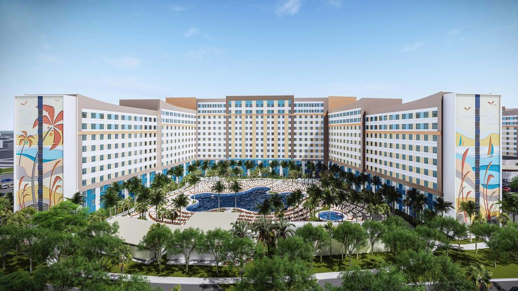 Novo hotel Universal