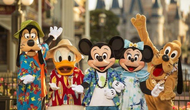 Mickey férias