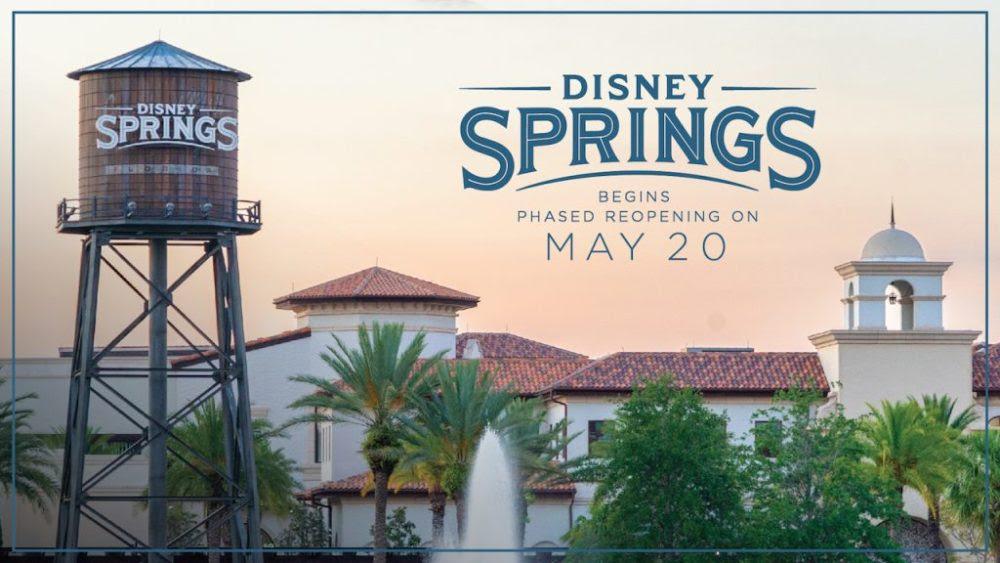 Disney Springs reabre dia 20 de maio