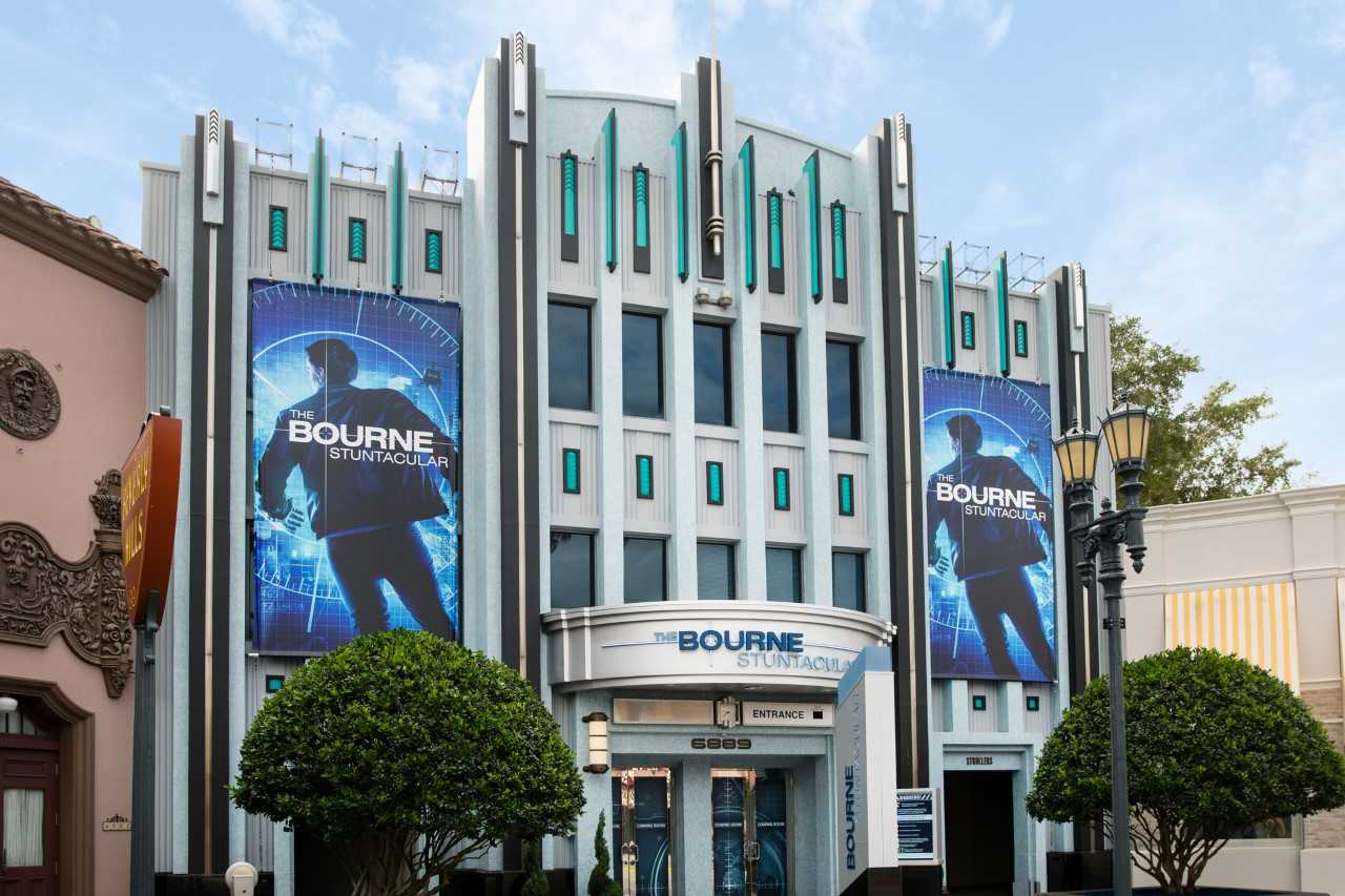 Universal Orlando Resort's All-New Stunt Show – The Bourne Stuntacular –...