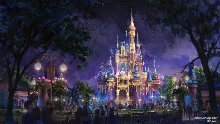 castelo cinderela 50 anos