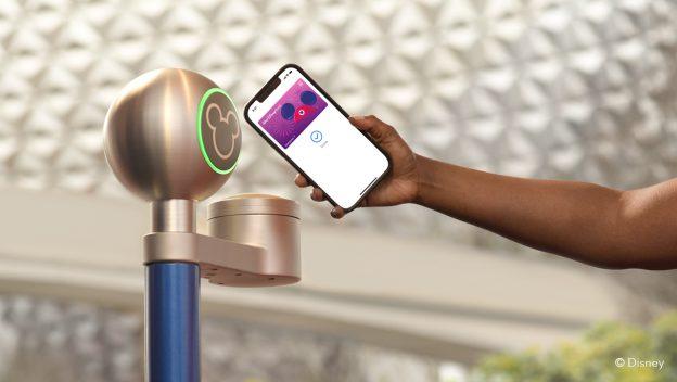 novo acesso parques disney com celular