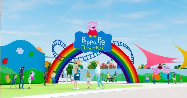 Novo parque Peppa Pig em Orlando