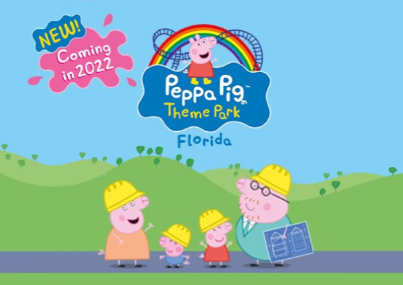 parque da Peppa Orlando