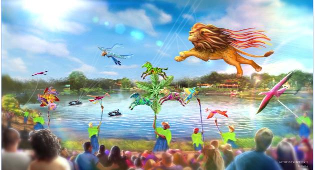 novo show diurno animal kingdom