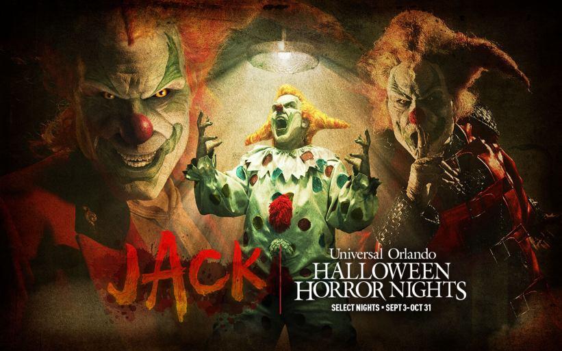 Universal Orlando Resort Celebrates Return of Jack the Clown to Halloween Horror Nights 2021