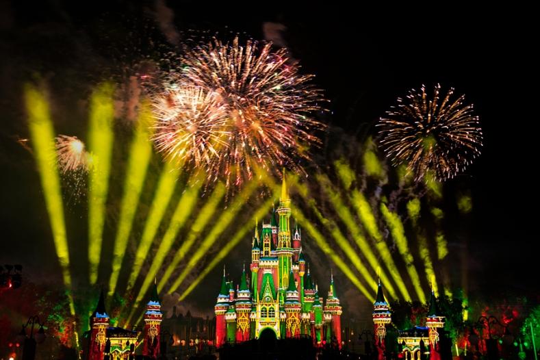 Fogos de natal Disney